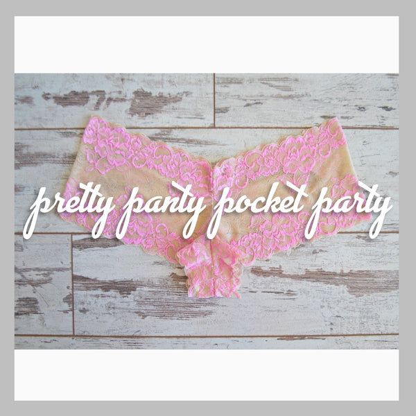 Pocket Party - Stretch Lace Undies | Beginner Class