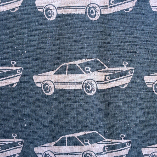 Echino Ni-Co - Retrocar - (Light Blue) | Canvas