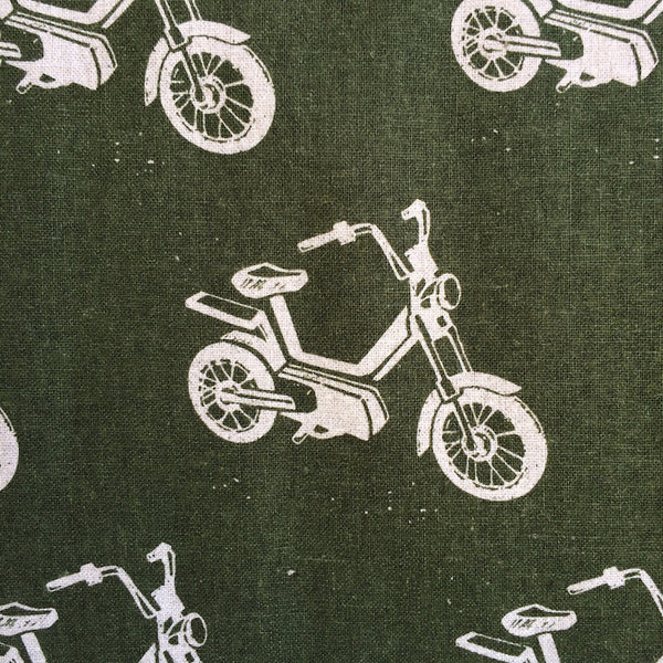 Echino Ni-Co - Motorbike - (Forest Green) | Canvas
