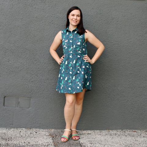 Woven Apparel - Grainline Alder Dress | Intermediate Class