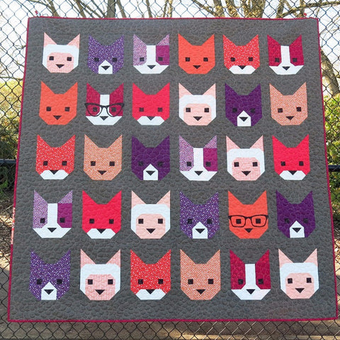 Elizabeth Hartman - The Kittens Quilt | Pattern