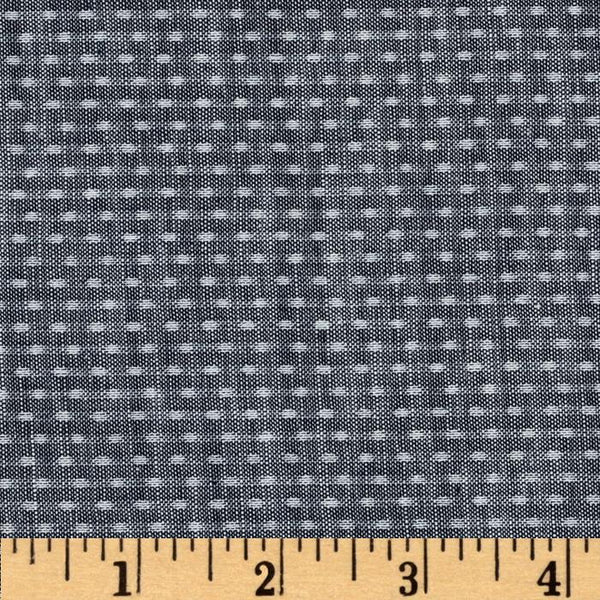 Chambray Union - Dots (Indigo) | Chambray