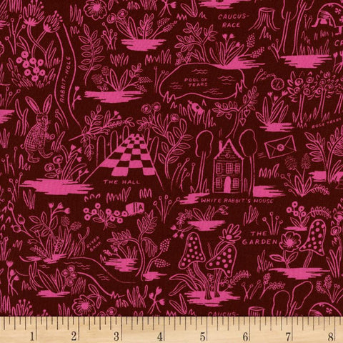 Wonderland - Magic Forest (Ruby) | Rayon