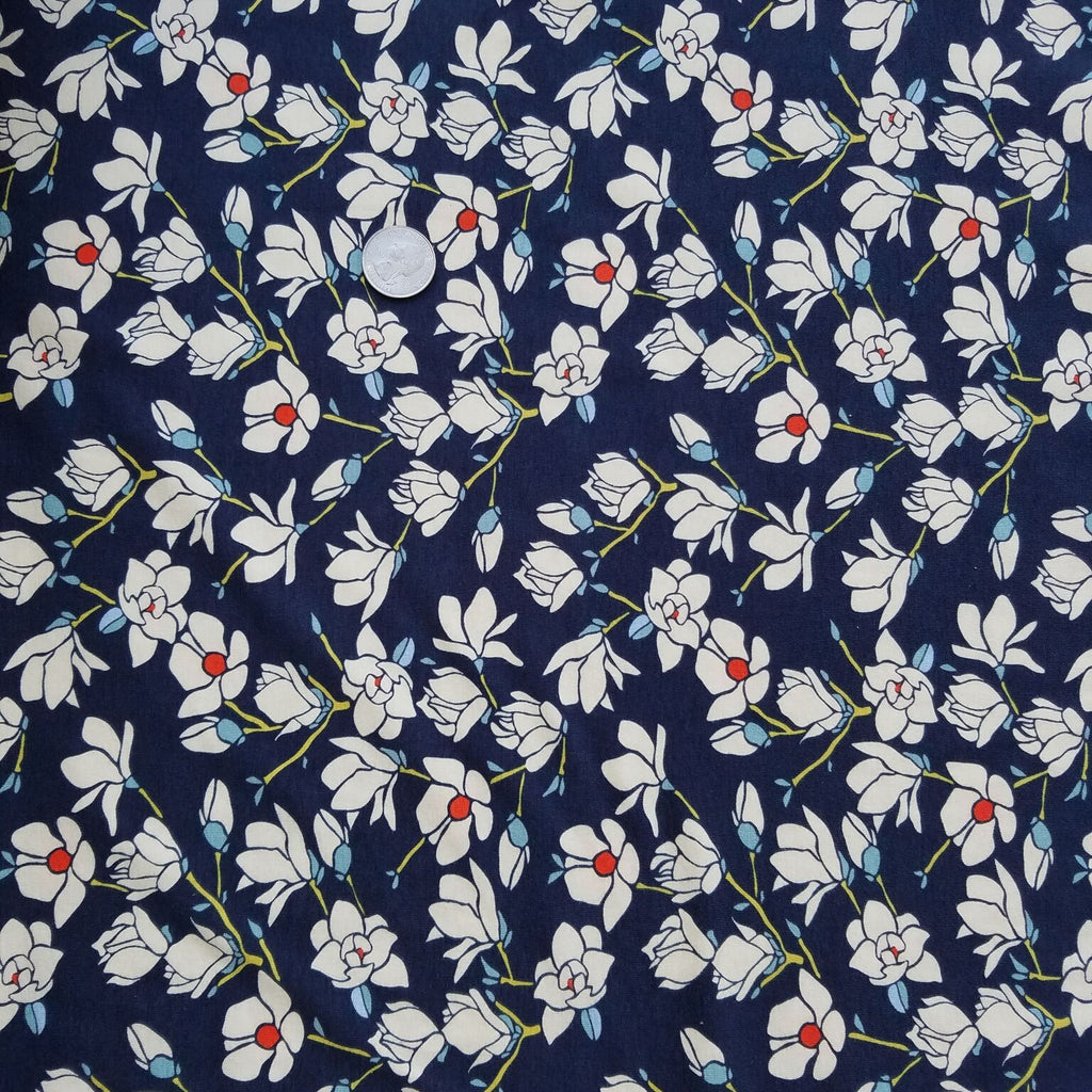Magnolia Nightfall in Knit from Charleston for Art Gallery Fabrics
