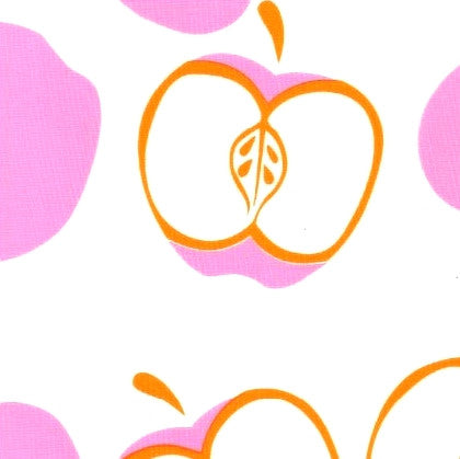 Pink Apples | Oil Cloth