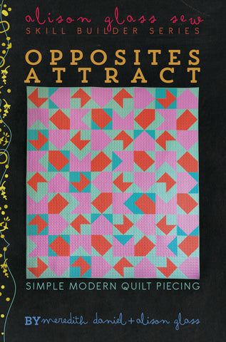 Alison Glass - Opposites Attract Quilt⎜Pattern