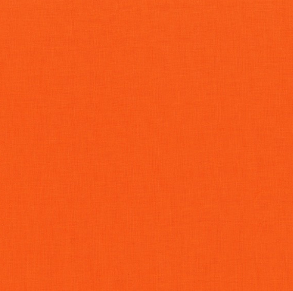 Cotton Couture Solids (Tangerine) | Broadcloth