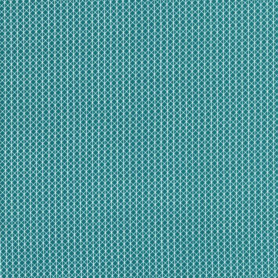 C + S Basics - Netorious (Teal) | Broadcloth