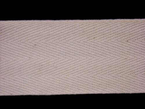 Twill Tape (Natural) | 100% Cotton