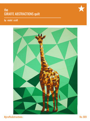 Violet Craft - Jungle Abstractions: The Giraffe Quilt | Pattern