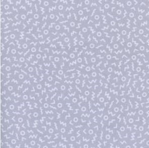Snap To Grid - Ziggy (Grey) | Broadcloth
