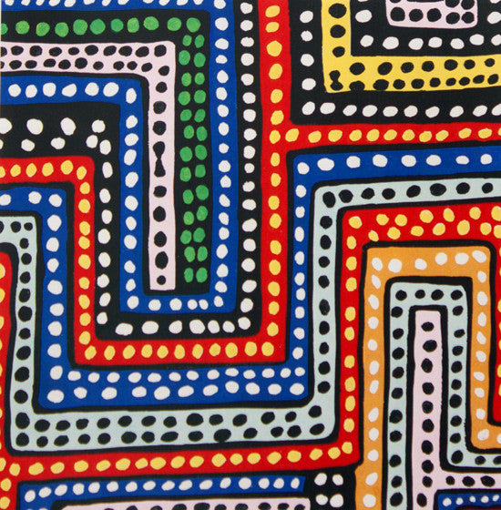 Africa - Dubaku Dot (Multi) | Broadcloth