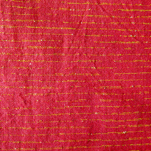 Andover - Lurex Metallic - Crimson - (Red + Gold) | Chambray