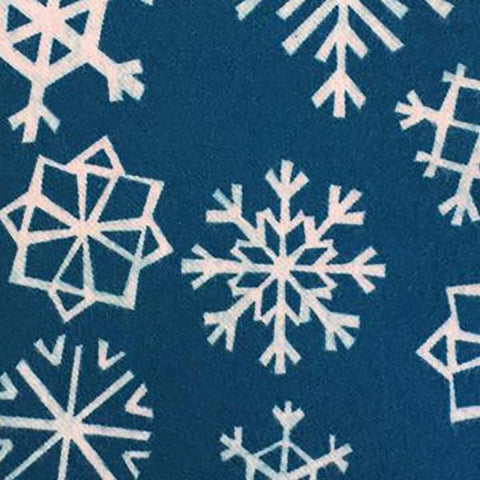 Garland - Snowflakes (Blue) | Brushed Twill