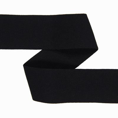 "1 1/2"" Soft Waistband Elastic - (Black) 