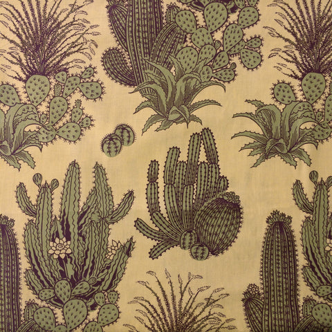 Nicole's Prints - Desert Floor (Tea/Olive) | Broadcloth