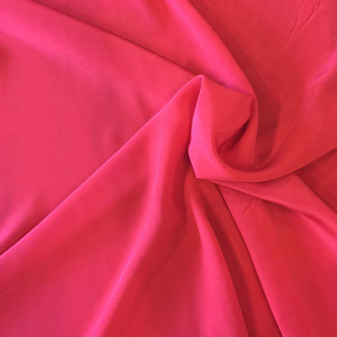 Lightweight Silk (Coral Red) | Silk