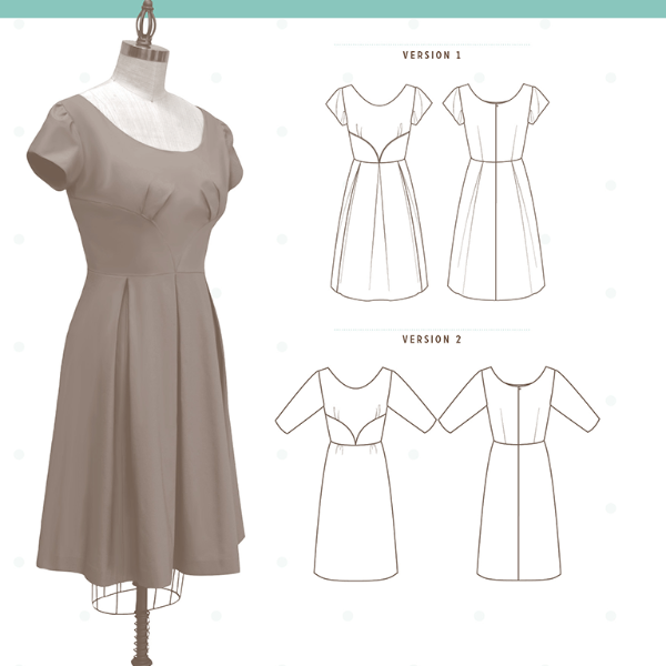 Colette Rue Dress⎜Apparel Pattern