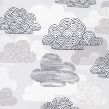 Passing Clouds - (Grey + White) | Laminate
