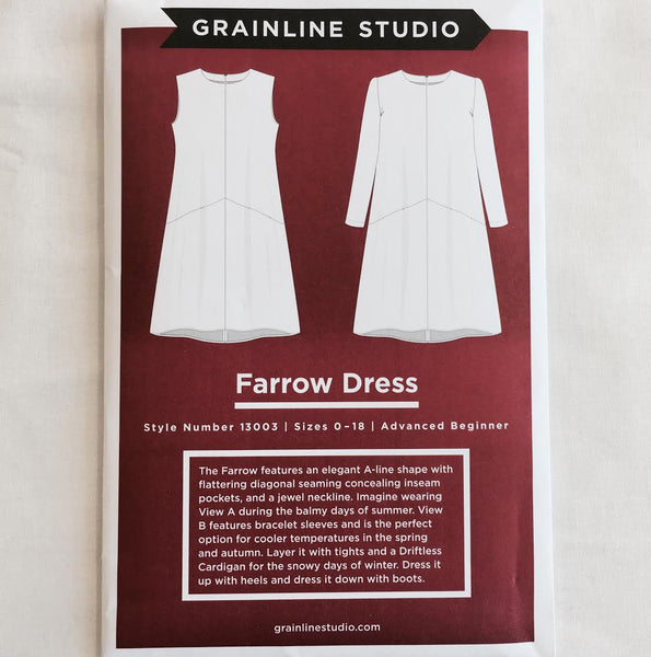 Grainline Studio - Farrow Dress⎜Apparel Pattern