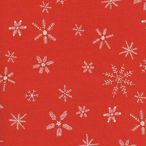 Frost - Flurry (Red) | Broadcloth