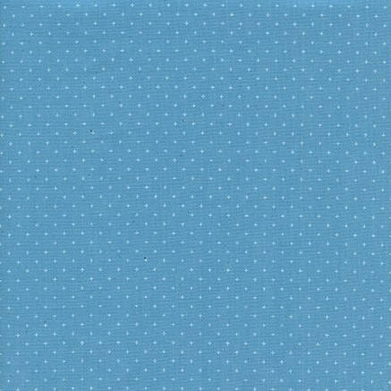 Cotton + Steel Basics - Add It Up (Bison Blue) | Broadcloth