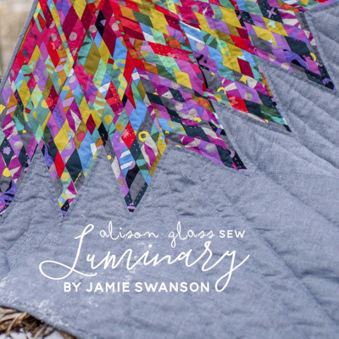 Alison Glass - Luminary Quilt⎜Pattern