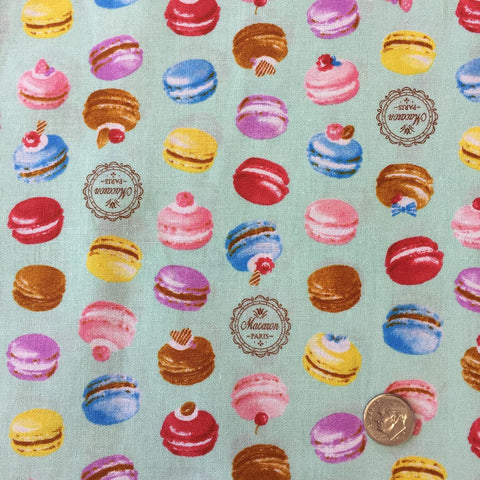 Multicolor Macarons (Mint) | Broadcloth