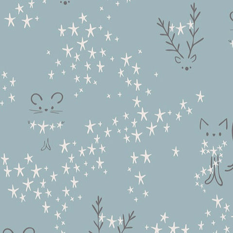Little Town - Starbright Fog (Sky) | Broadcloth