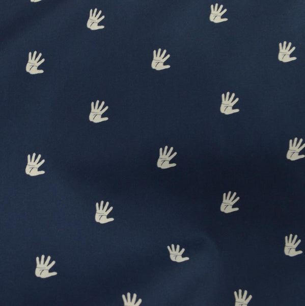 Hokkoh - High Five Hands (Navy) | Poplin