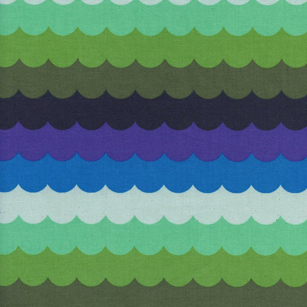 Panorama - Scallops (Landscape) | Broadcloth
