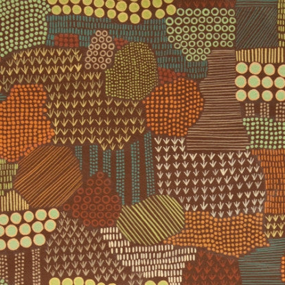 Woodland Field (Chocolate) | Broadcloth
