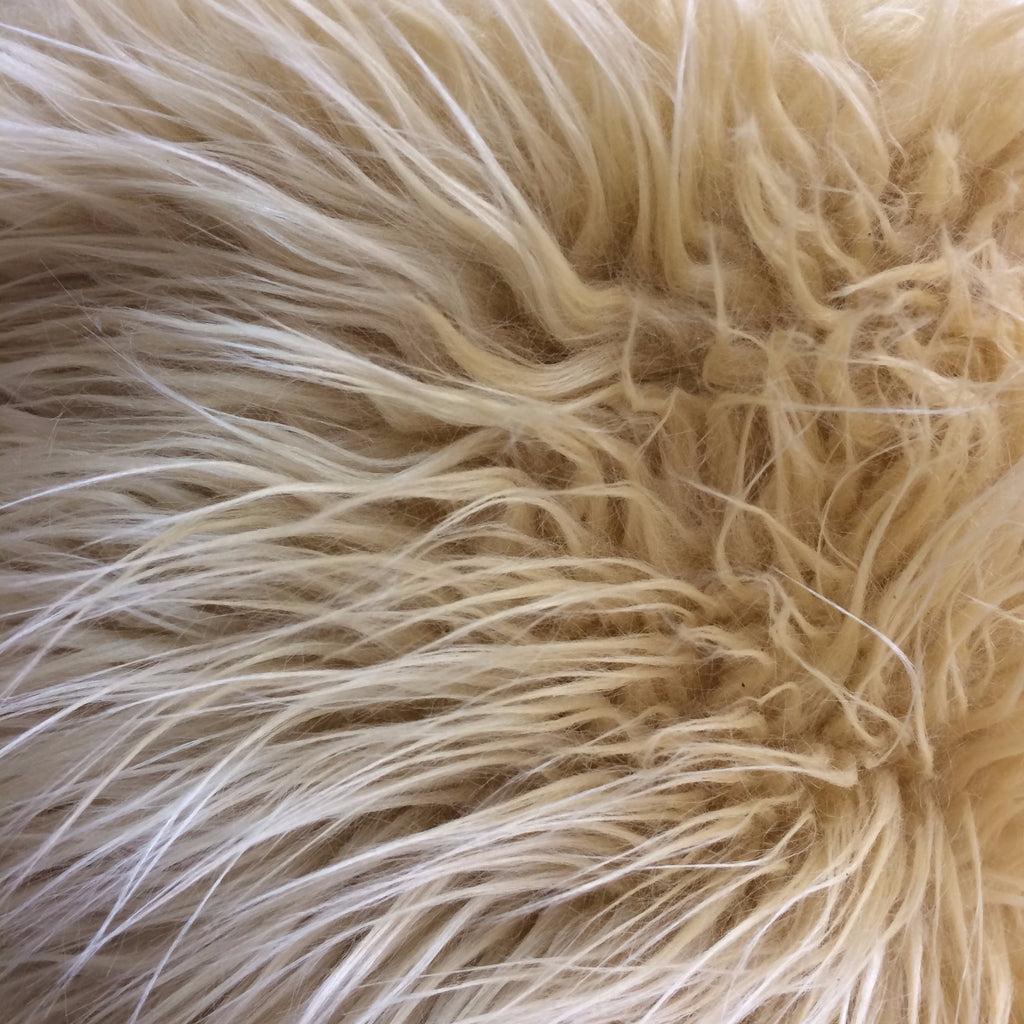 Plush Faux Fur - Shaggy (Blonde) | Faux Fur