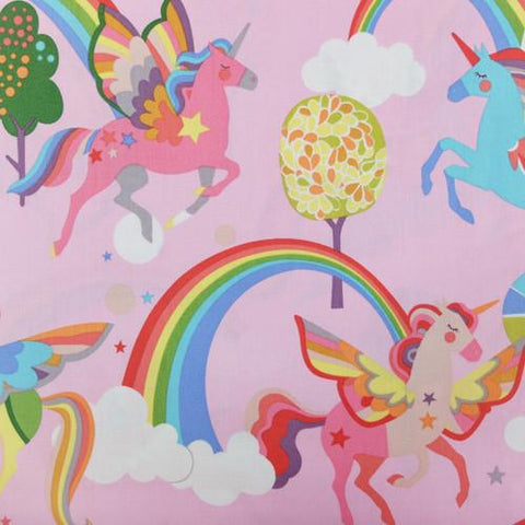 Monkey's Business - Magic Rainbow Shine (Pink) | Broadcloth