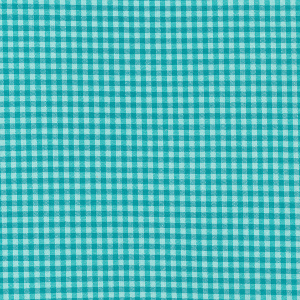 Checks Please - (Rain/Turquoise) | Broadcloth