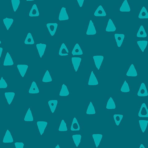 Modern Batiks - Triangles (Sea Glass) | Batik