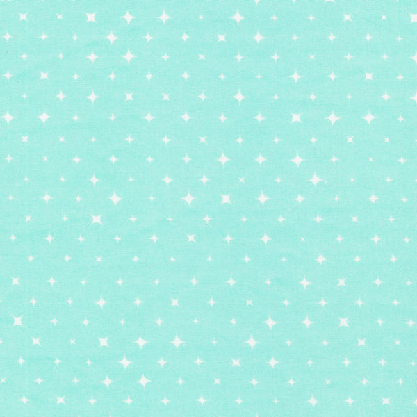 We Are All Stars - Clear (Turquoise) | Broadcloth