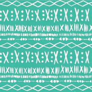 Printshop - Stitch (Turquoise) ⎮ Broadcloth