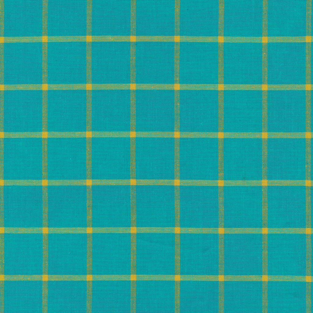 Window Dressing - (Turquoise/Amber) | Broadcloth