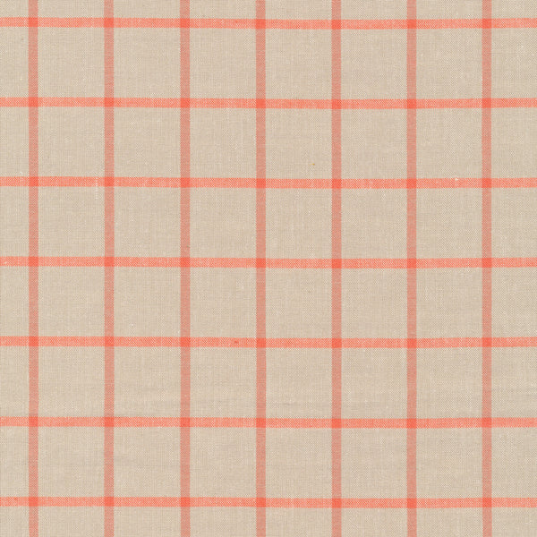 Window Dressing - (Twig/Coral) | Broadcloth