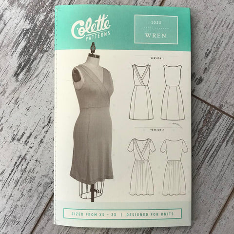 Colette No. 1033 - Wren Dress | Apparel Pattern