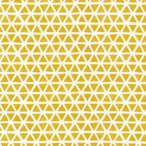 Cloud9 Knits - Triangles (Mustard + White) | Knit