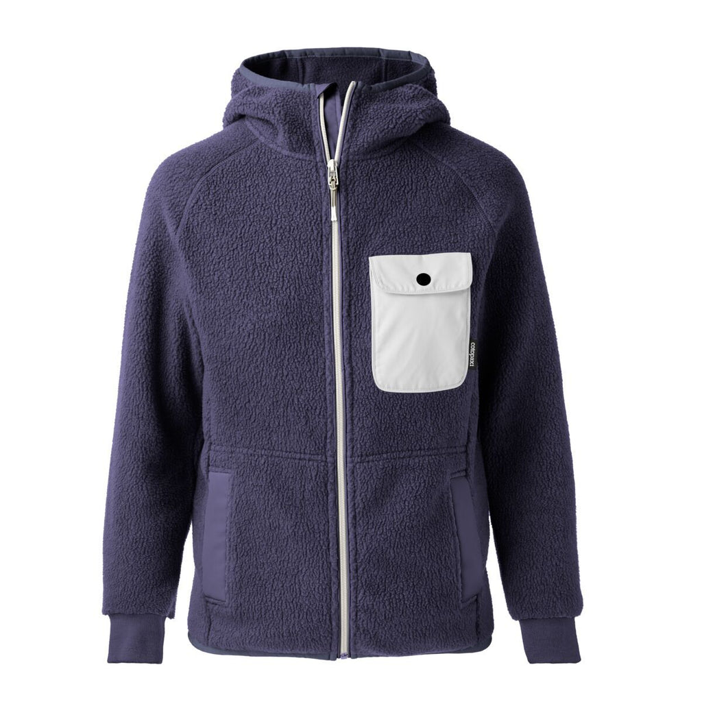 Cubre Full-Zip Fleece Jacket - Men's, Graphite/Cream, Front