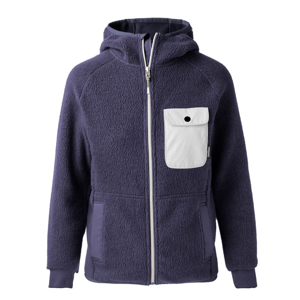 Cubre Full-Zip Fleece Jacket - Women's, Graphite/Cream, Front
