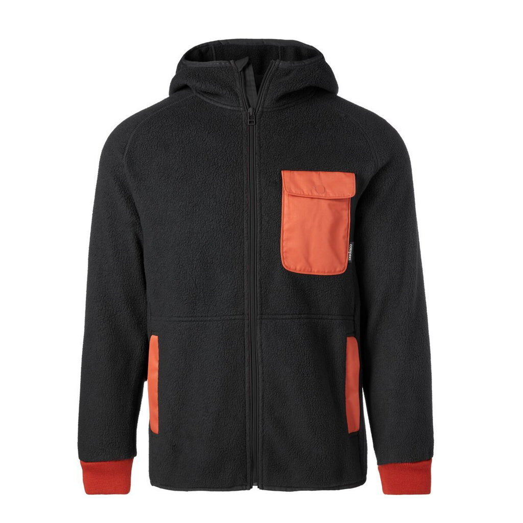 Cubre Full-Zip Fleece Jacket - Men's, Black, Front