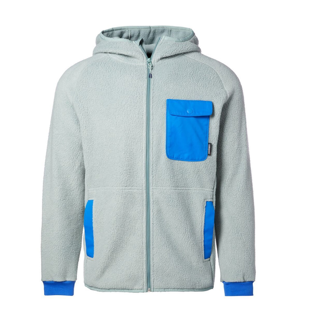 Cubre Full-Zip Fleece Jacket - Men's, Sage, Front