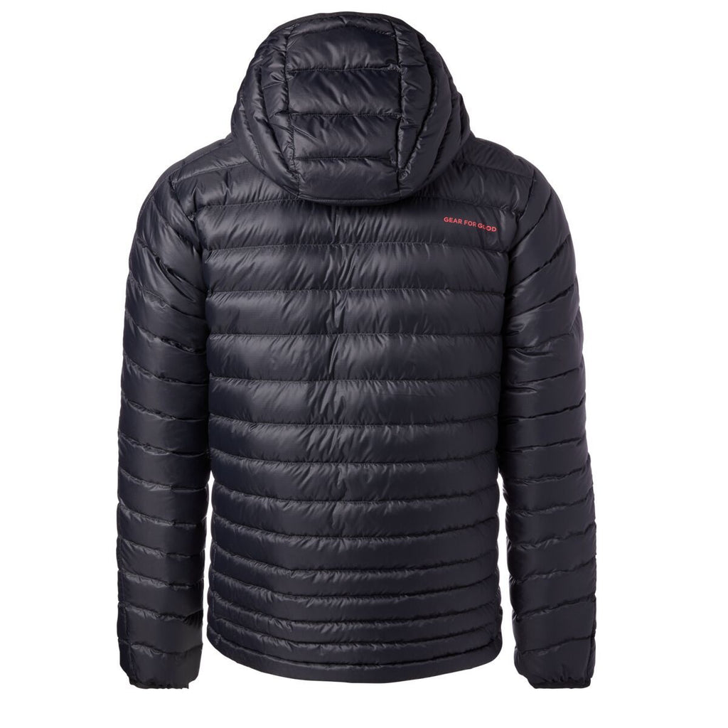 Fuego Down Jacket - Men's, Black, Back