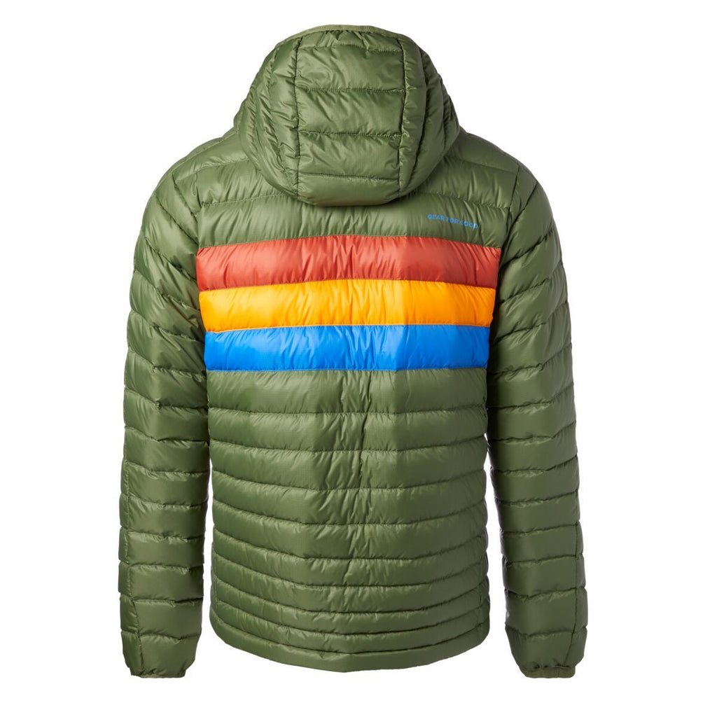 Fuego Down Jacket - Men's, Pine, Back