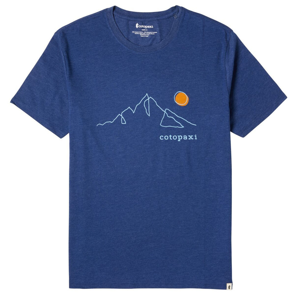 Mountain Sun T-Shirt - Men's, Admiral, Front