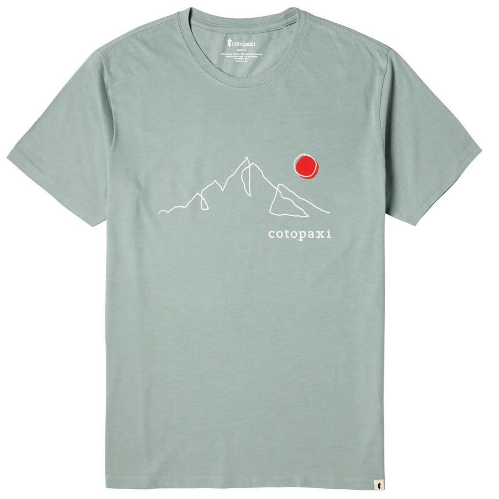 Mountain Sun T-Shirt - Men's, Sage, Front